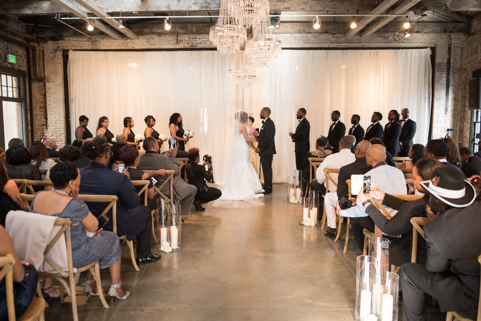 Looking Back: Our First Wedding at Dye House